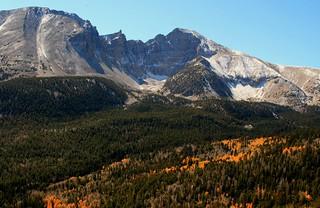 Great Basin valley, in Nevada